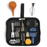 Watch Repair Tool Kit Case Opener Band Link Remover Spring Bar Tool