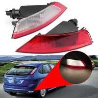 Left/Right Rear Bumper Brake Fog Lights Tail Reverse Lamp for Ford Kuga Focus W/ Bulbs