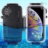 40m Diving Anti-pressure Anti-explosion Shockproof Waterproof Case For iPhone XS Max/XR/X/XS/8 Plus/7 Plus/8/7