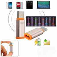 USB 3.1 Type C to Micro USB 2.0 Female Adapter for Tablet Cell Phone Random Shipment
