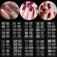 Acrylic Nail Art Image Stamp Printing Stamping Plate Template DIY Tool