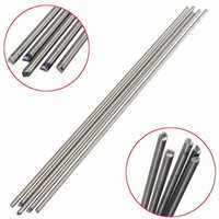 10pcs Titanium Alloy Bar Metal Shaft Bar Round Rod 3mm x 250mm Titanium Rod