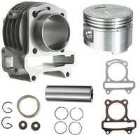 GY6 50cc to 80cc Big Bore Kit Cylinder Rings 139 QMB 139QMB Scooter Moped