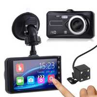 1080P Touch Screen Car DVR Camera Recorder Dual Lens Front and Rear HD Dash Cam