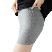 Cosy Lace Printed Breathable Solid Color Stretchy Bodyshaping Underwear