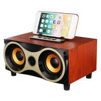 Wireless bluetooth Speaker Support Microphone TF Card With Phone Holder For Tablet Cellphone