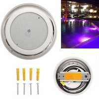 AC12V 35W 441 LED RGB Stainless Steel Swimming Pool Light