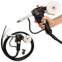 Spool Gun Gas Shielded Welding Gun Push Pull Aluminum Torch with 3M Cable