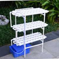 Hydroponic Grow Kit 108 Sites 12 Pipes 3 Layers Garden Plant Vegetable Planting Water Culture System