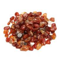 100g Natural Red Gravel Agate Polished Healing Quartz Crystal Stones Specimens DIY