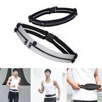 Xiaomi YUNMAI Waterproof Waist Bag Double Pockets Reflective Sport Running Pack Headphone Belt Pouch
