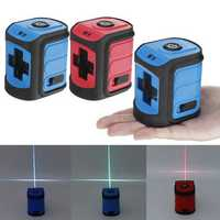 Green Blue Red Light Laser Level Self Leveling 360° Rotary Measure Cross