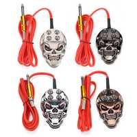 Skull Foot Pedal Switch Control for Tattoo Machine Power Sup