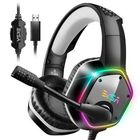 Meilleurs prix EKSA E1000 Gaming Headphone 7.1 Virtual Surround RGB Light USB Professional Gaming Headset with Noise Cancelling Mic for PC PS4 XBOX Laptop