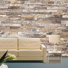 Offres Flash 3D Wall Paper Brick Stone Pattern Vinyl WallPaper Roll Living Room TV Background Decor