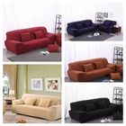Bon prix 4 Seat Sofa Cover Slipcover Stretch Elastic Couch Furniture Protector Chair Covers