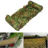 3MX5M Hunting Camping Jungle Camouflage Net Mesh Woodlands Blinds Military Camo Cover
