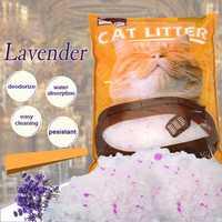 HOOPET 5L Crystal Cat Litter Strong Absorption Deodorization Cat Litter Sand