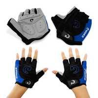 MOKE Cycling Mountain Road Bike Bicycle Gloves Half Finger Anti-slip Unisex Gloves