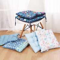42x42cm Square Thickening Seat Chair Pad Cushion Elegant Cotton Car Mat Home Cusions Home Decor