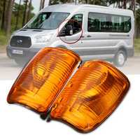 Car Door Wing Mirror Indicator Lamp Turn Signal Lights for Ford Transit MK8 2014 Onwards