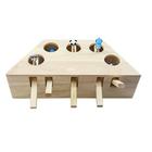 Acheter au meilleur prix Cat Toys Hamster Machine Funny Cat Toy Solid Wood Pet Supplies Whac-A-Mole Mouse