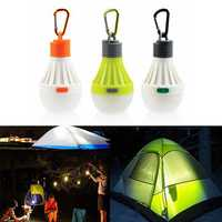 1W Portable Hanging LED Ball Camping Tent Light Bulb Outdoor Fishing Hiking Lantern Night Lamp