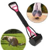 Pet Dog Waste Easy Pickup Pooper Scooper Walking Poo Poop Scoop Grabber Picker