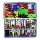 Acheter ZANLURE 141pcs/set Fishing Lure Kit Hooks Crankbait Plastic Worms Jigs Artificial Baits With Box