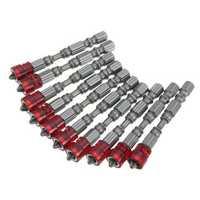 Effetool 10pcs 65mm PH2 Magnetic Screwdriver Bits 1/4 Inch Hex Shank Screwdriver Bit