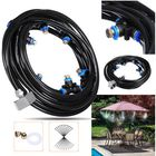 Meilleurs prix 20M+3M Outdoor Mist Coolant System Water Sprinkler Garden Patio Mister Cooling Spray Kits Micro Irrigation Set With 36 Spray Nozzles