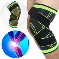 IPRee® 1Pcs 3D Weaving Knee Brace Breathable Sleeve Support for Running Jogging Sports