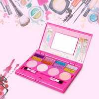 Princess Makeup Set For Kids Cosmetic Girls Kit Miniature Eyeshadow Lip Gloss Blushes Beauty Decoration Toys