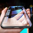 Flash Offers Bakeey Clear Tempered Glass Back Cover TPU Frame Protective Case for Samsung Galaxy Note 9/S9/S9 Plus/Note 8/S8/S8 Plus/S7 Edge