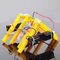 DIY RC Walking Robot STEAM Educational Kit Gift For Children