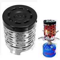 Portable Heater Butane Gas Stove Burner Warm Cap Cover For Winter Outdoor Camping Hiking