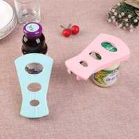 Multi-function Anti-slip Silicone Jar Bottle And Can Opener Portable Handheld Can Multi-opener