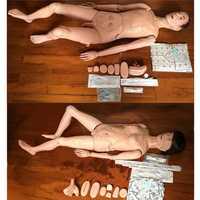 1Pc Advanced Multi-functional Nursing Training Manikin Medical Model Mannequin Patient