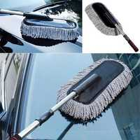 Multi-Functional Microfiber Car Dust Cleaning Brushes Duster Mop Auto Duster Washer Tool Wax Brush