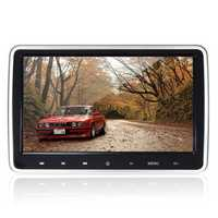 10.1 Inch HD Port Car Video LCD Screen Monitor Pillow Head Rest DVD FM/IR Game Player