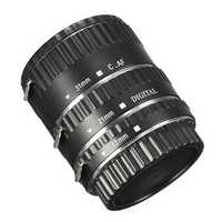 Auto Focus AF Macro Extension Metal Tube 13MM 21MM 31MM For Canon EOS Lens