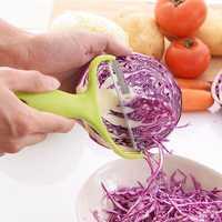 Honana CF-SP01 Cabbage Peeler Stainless Steel Large Vegetable Potato Slicer Knife Salad Maker Tool