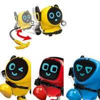 New Gyro Car Xiaobao Snail Gyro Clockwork Toy Inertia Car Robot Force Control Gyro With Sucker Packaging