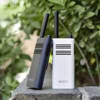 BeeBest A208 Handheld Walkie Talkie 5W 1-5KM Two Way Radio White 2000mAh/ Blue 3350mAh for Outdoor Indoor Building Security From Xiaomi Youpin