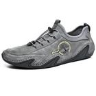 Acheter au meilleur prix Men Genuine Leather Soft Slip Resistant Sole Casual Daily Hiking Shoes