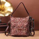 Meilleurs prix Brenice National Floral Travel Women Backpack Crossbody Bag