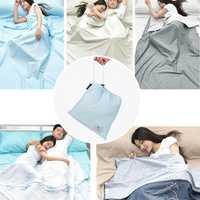 Naturehike 1-2 Person Sleeping Bag Travel Liner Envelope Cotton Anti dirty Liner Bed Sheet With Bag