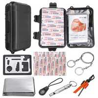 16 In 1 Outdoor EDC SOS Survival Tools Kit Case Camping Emergency Multifunctional Box
