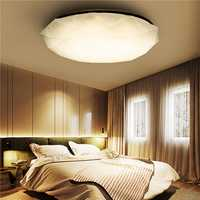 12W White/Warm White Diamond LED Ceiling Light Mount Fixture Lamp for Kitchen Bedroom AC110-220V