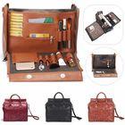 Prix de gros Brenice Women Embossed Floral Handbag Vintage Large Capavcity Shoulder Crossbody Bag
